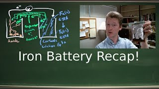 Iron Battery Recap: Why and How