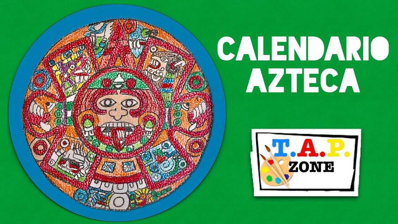 Calendario Inca Simbolos.Como Hacer El Calendario Azteca Tap Zone