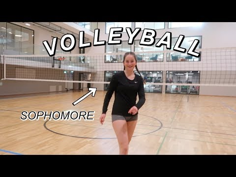 Follow me around VOLLEYBALL PRACTICE! (sophomore in high school)
