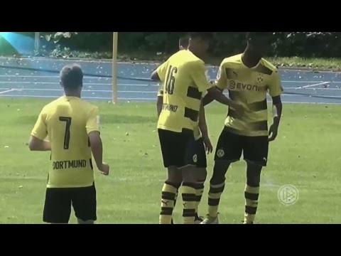 U 16 Junioren Deutschland Gegen Italien Youtube