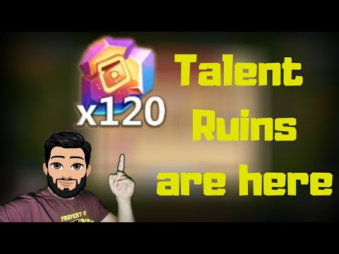Level 10 Talent Ruins Are Here | Castle Clash