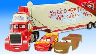Disney Cars 3 Camion Mack Truck Jocko Flocko Lanceur Flash McQueen Disneystore Jouet Review
