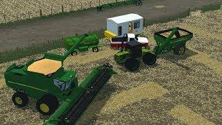 Farming Simulator 2013 argentina- Cosecha de Trigo -  Mapa Estancia Los Vascos v2.3