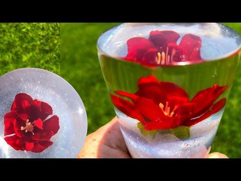 DIY dried flowers in resin / Art Resin / 2019