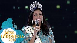 Pidato Maria Harfanti Menjadi Juara 3 Miss World 2015 [Miss Indonesia 2016] [24 Feb 2016]