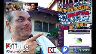 @oracle d, @oracle d task   Review a Media #DApp from @stateofthedapps Website   My Review of Minnow