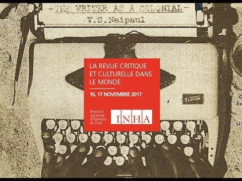 Colloque   La revue critique et culturelle dans le monde - Isadora de Ataide Fonseca (5/17)