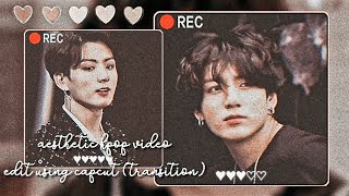 ꪶ🍥ᝢ꫶。 how to mąke kpop video edit on capcut - transition (ENG-INA)꒷꒦