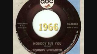 Sounds Unlimited Nobody But You 1966