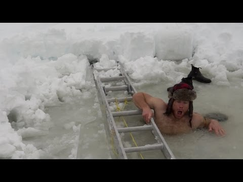 This Man's 'Winter Challenge' Is Absolutely Everything