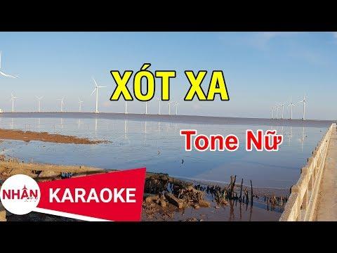 Xót Xa (Karaoke Beat) - Tone Nữ