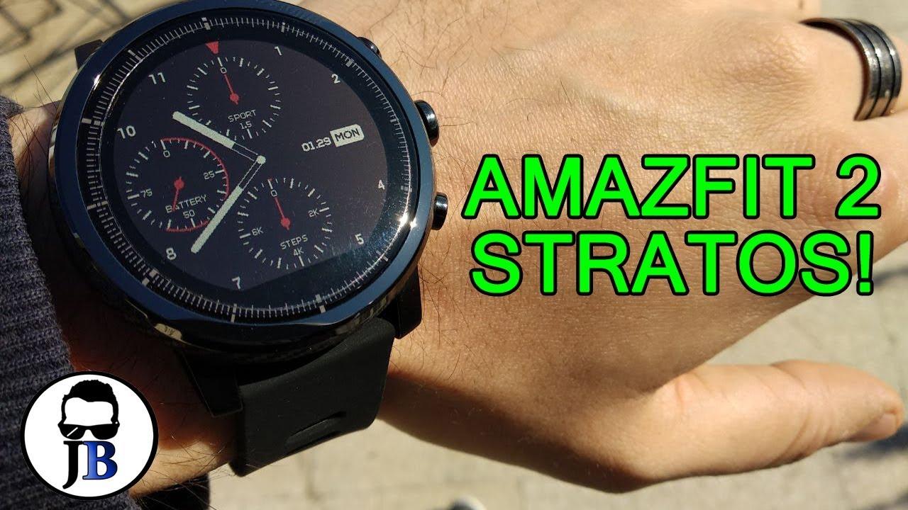 Amazfit 2 Stratos - Parliamone! dettagli e confronto con Pace, by