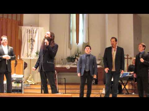 Michael English & The Hoppers -I Believe In A Hill Called Mt. Calvary