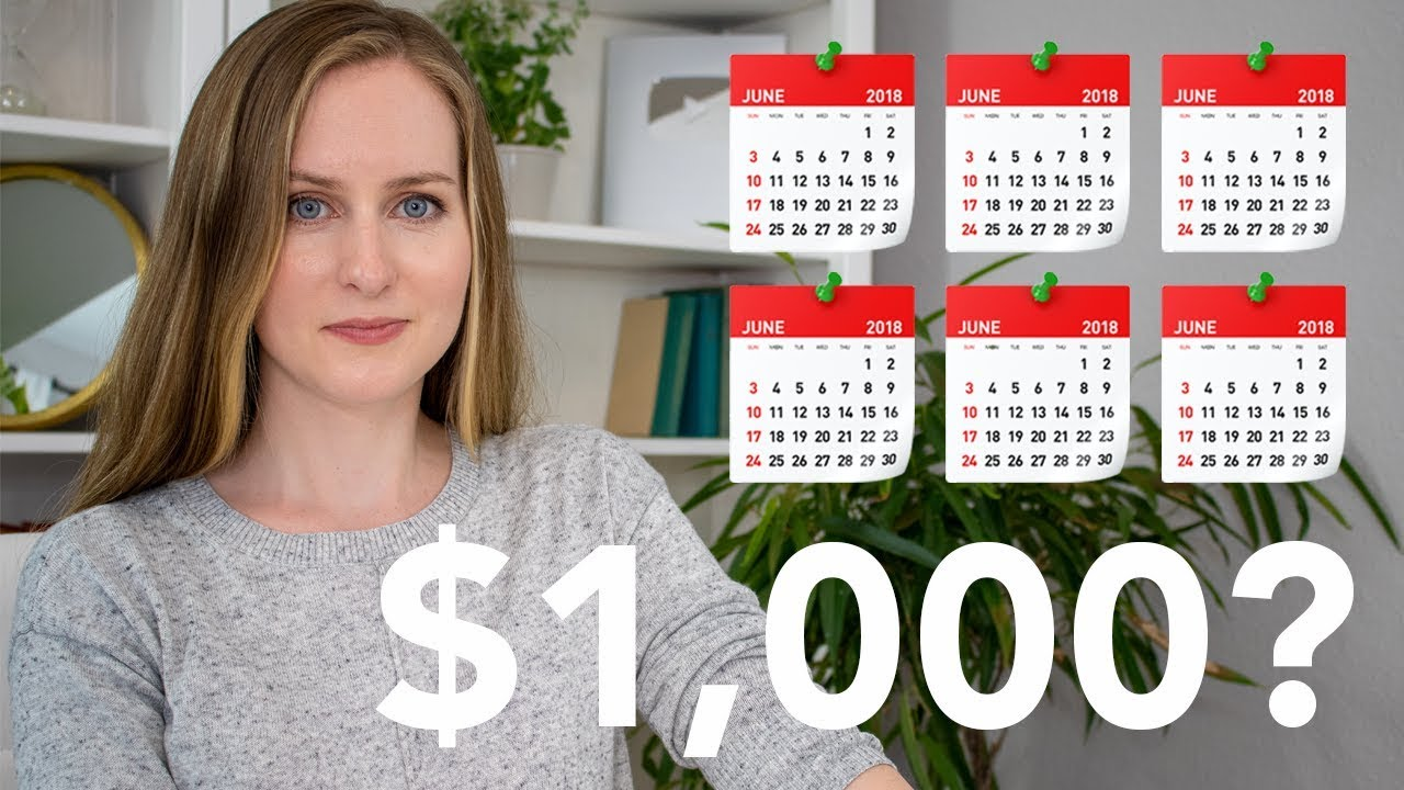 How LONG did it take to earn my first $1000 on YouTube?