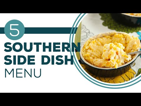 Get your Side Dishes On - Southern Side Dish Buffet - Paula's Home Cooking