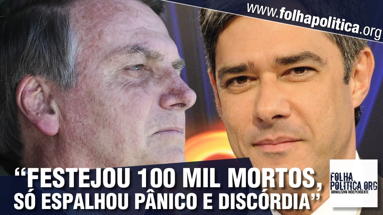 Bolsonaro retruca ataque do Jornal Nacional, da Rede Globo: 'Só espalhou pânico e discórdia'