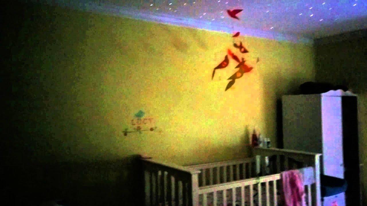 Fiber Optic Star Ceiling In Nursery