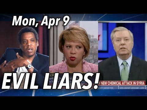 Jay-Z a Miserable Liar   MLK for BLM??   Syria Gas Attack? Israel Strikes?   Get Over Anger. Mon 4/9