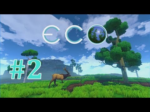 ECO World Survival | Awesome Linked Inventory System | EP2 Gameplay