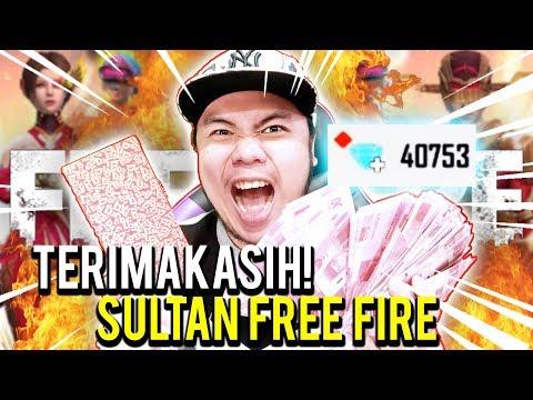 download DIKASIH SULTAN FF ANGPAO 20JUTA BUAT BELI DIAMONDS FREE FIRE! - Free Fire Indonesia #38