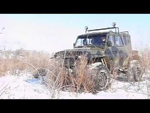Вездеход на базе УАЗ 3151