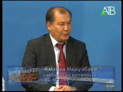 Дебаты кандидатов на пост главы Ахтубинского района 12.09.2014