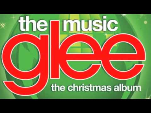 Glee  God Rest Ye Merry Gentlemen ~ with Lyrics