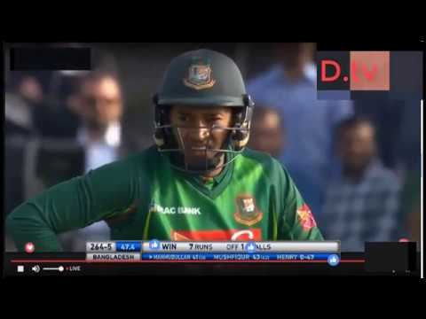 Bangladesh Vs New Zealand, 3rd Match- Live Cricket ! Wednesday May 24 2017 Last 5 Over