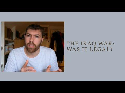 Was the Iraq War Legal?