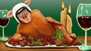 Gmod Death Run Funny Moments - Thanksgiving Dinner!