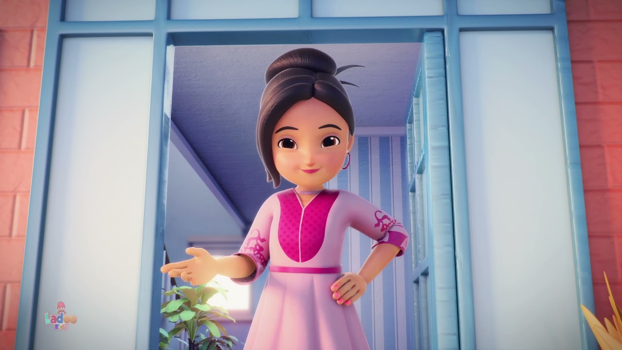 Munne Raja   مونے راجہ   Ammi Ki Roti Gol Gol   Ladoo Kids Rhymes   Nazam for Kid   Me Pilot Banungi