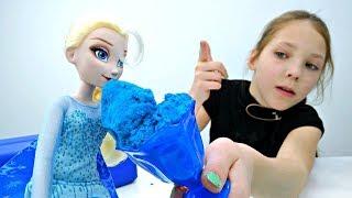 Эльза и огромный торт - Играем в куклы - Холодное Сердце