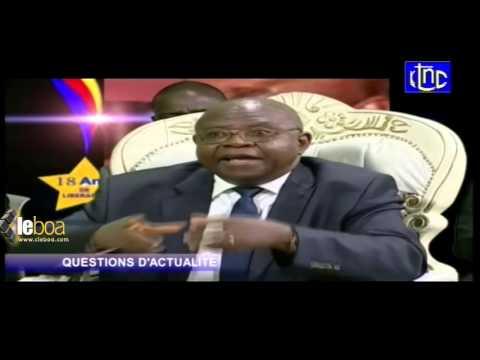 Ambassadeur  MUGALU félicite la garde présidentielle burundaise pour avoir protégé le pr. Nkurunziza