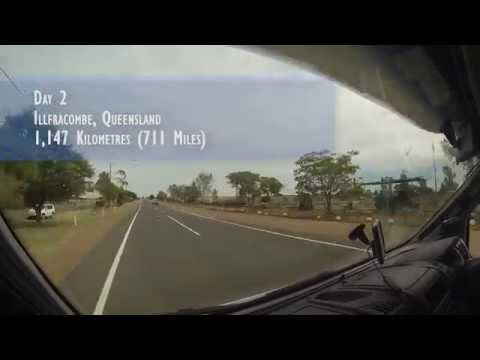 DriveLapse - Our Road Trip Through Central Australia (May 2014)