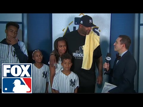 CC Sabathia and family talk to Ken Rosenthal after ALCS Game 3   2017 MLB Playoffs   FOX MLB