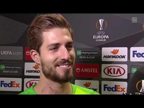 Kevin Trapp im DAZN Interview nach Inter Mailand vs Eintracht Frankfurt.