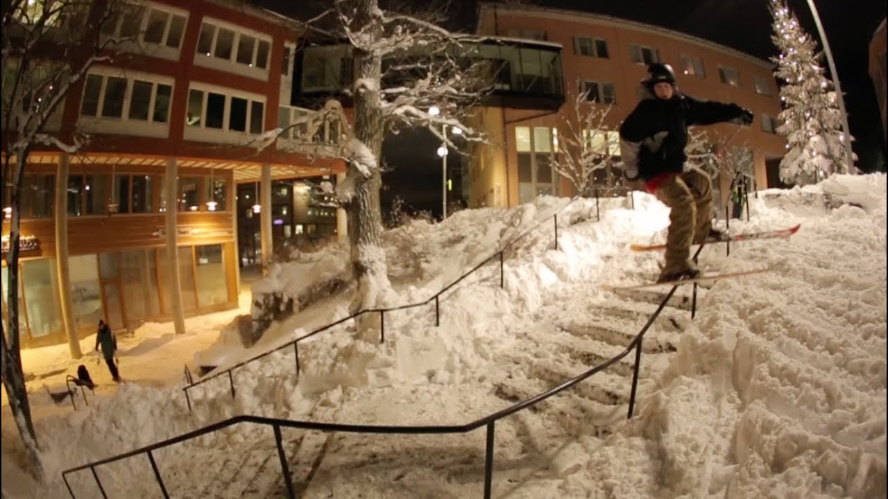 Partly Cloudy Bonus Clip: Niklas Eriksson Threading the Needle
