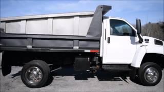 2006 GMC Topkick Dump Truck 4x4 6.6L Duramax Diesel