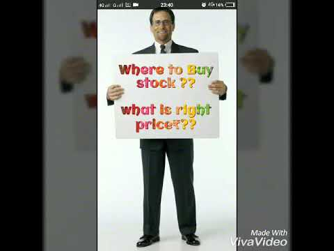 Trading ;Right price to buy stock and when to enter