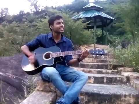 guitar cover of mera dil -darshan rawal