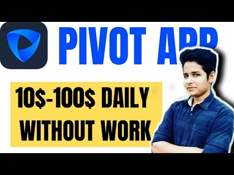 Pivot app mod new coins feature and PVT balance withdraw update hack pivot Earn From Pivot App hack