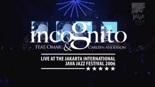 incognito ft omar carleen anderson still a friend of mine at java jazz festival 2006