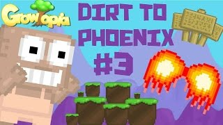 Growtopia - Dirt to Phoenix #3 | SIGN SIGN SIGN