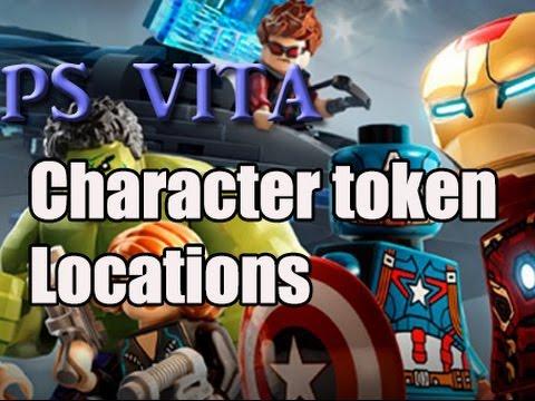 Lego Marvel Avengers PS VITA/3ds Character tokens(Manhattan)