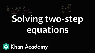 Two Step Equations With Decimals And Fractions