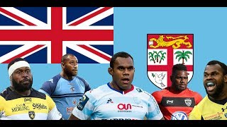 Top 10 Fijians Playing Rugby in the French Top 14 2017