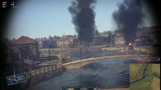 War Thunder - Why is my team driving into the river?
