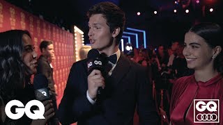 Ansel Elgort Interviews His Girlfriend In Cute GQ Red Carpet Clip