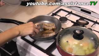 Как жарить домашние колбаски