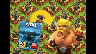 Clash of Clans || Max level 16 super pekka Vs 64 Max X-bow , who will win ??